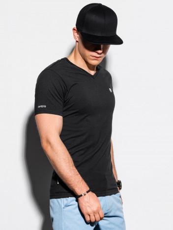 Pánské basic tričko Sal černé