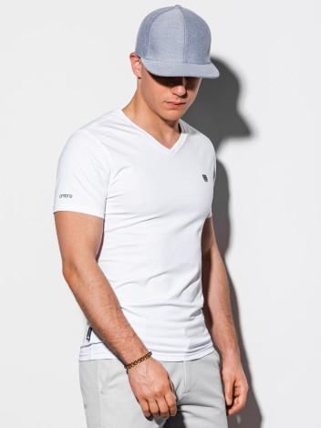 Pánské basic tričko Sal bílé