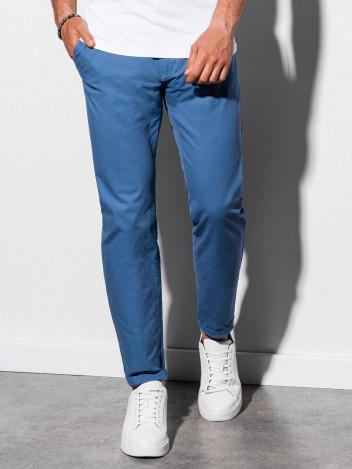 Pánské chinos kalhoty Ellis modrá