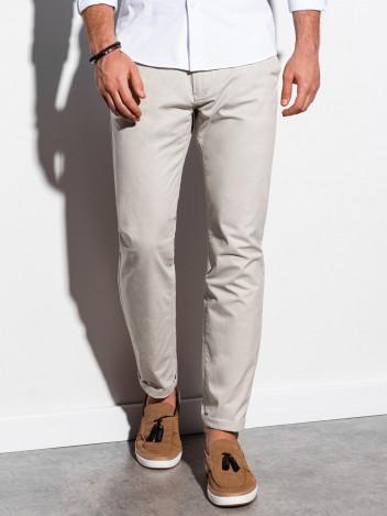 Pánské chinos kalhoty Ellis světle béžová