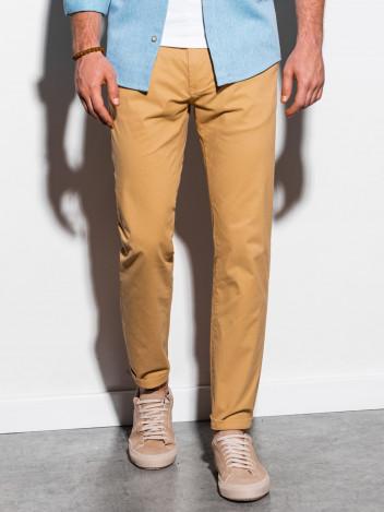 Pánské chinos kalhoty Ellis béžová