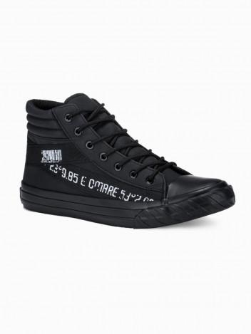 Ombre Clothing Pánské kotníkové boty Patrick černá