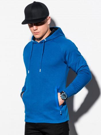 Pánská mikina s kapucí Karl modrá