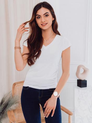 Edoti Dámské basic tričko Casilda bílá