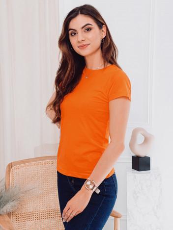 Edoti Dámské basic tričko Meinrad oranžová