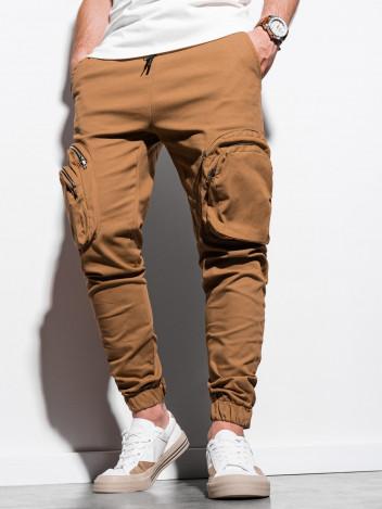 Pánské jogger kalhoty Kristoffer camel