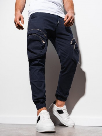 Pánské jogger kalhoty Kristoffer navy