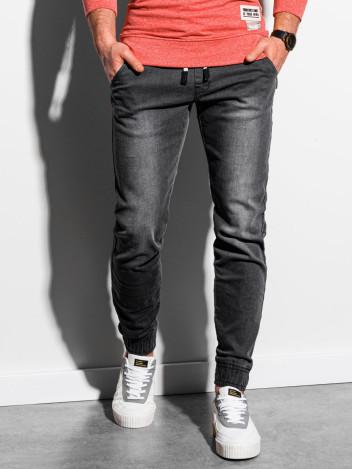 Pánské džíny joggers Markus černá