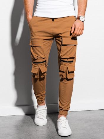 Pánské jogger kalhoty Nadji camel