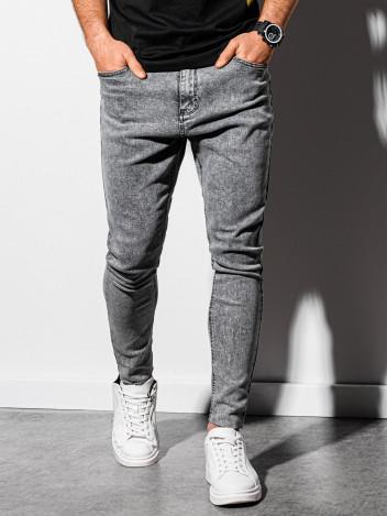 Pánské džíny Irm šedá