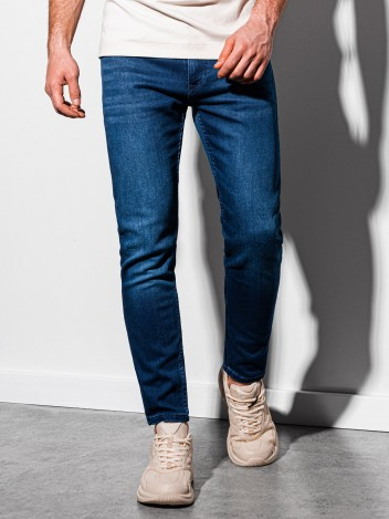 Ombre Clothing Pánské džíny Jonas tmavě modrá