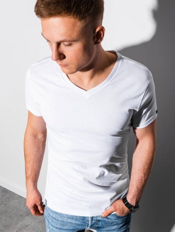 Pánské basic tričko Oliver bílá