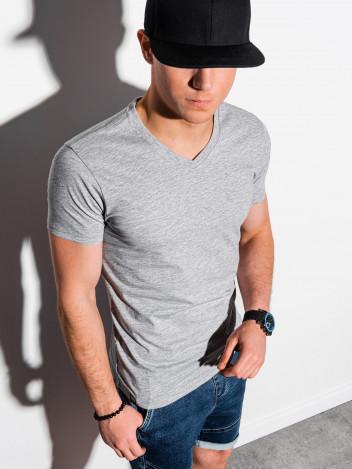 Pánské basic tričko Oliver šedá