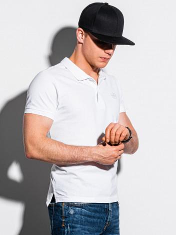 Pánské basic polo tričko Douglas bílá