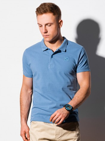 Pánské basic polo tričko Douglas modrá