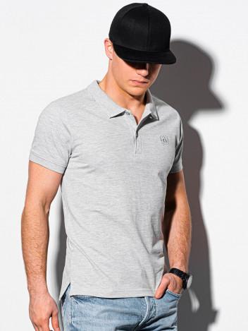 Pánské basic polo tričko Douglas šedá