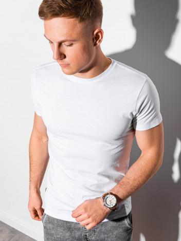 Pánské basic tričko Elis bílá