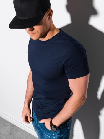 Pánské basic tričko Elis navy