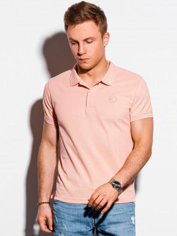 Pánské basic polo tričko Douglas broskvová