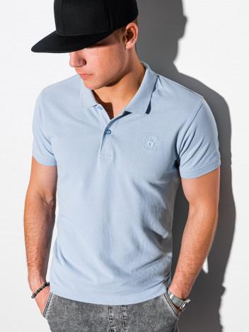 Pánské basic polo tričko Douglas světle modrá