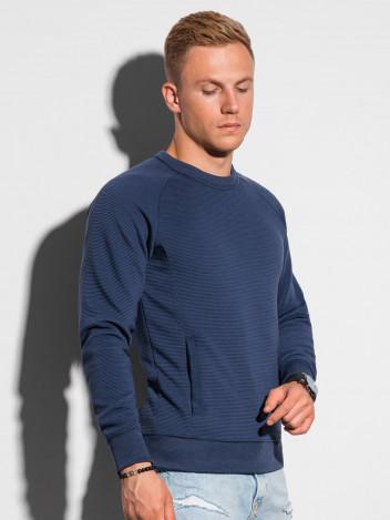 Ombre Clothing Pánská mikina Paulini tmavě modrá