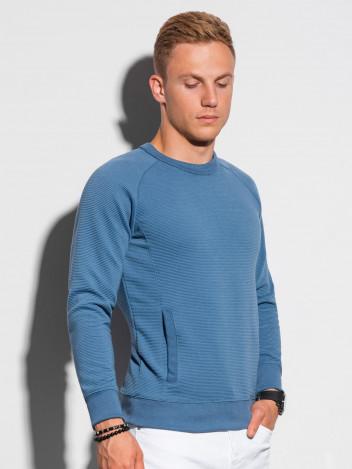 Ombre Clothing Pánská mikina Paulini modrá