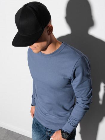 Ombre Clothing Pánská mikina Maurits modrá