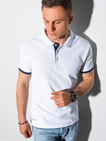 Pánské basic polo tričko Aron bílá