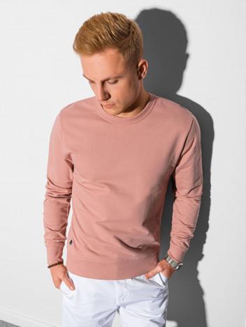 Ombre Clothing Pánská mikina Maurits růžová