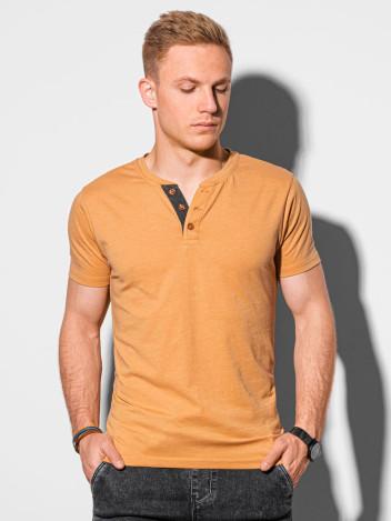 Pánské basic tričko Reinhold žlutá