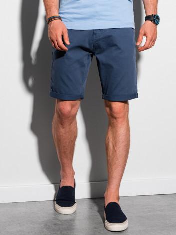 Ombre Clothing Pánské casual kraťasy Finn modrá