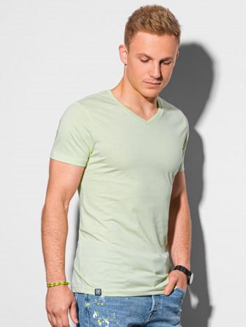 Pánské basic tričko Oliver limetkově zelená