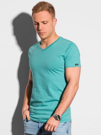 Pánské basic tričko Oliver tyrkysová