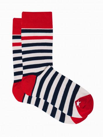 Ombre Clothing Pánské ponožky Helena bílo-navy