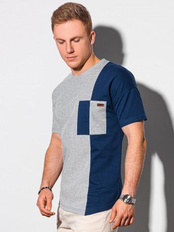Pánské basic tričko Klarn navy