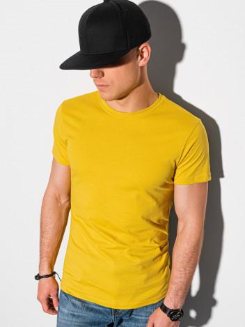Pánské basic tričko Elis žlutá
