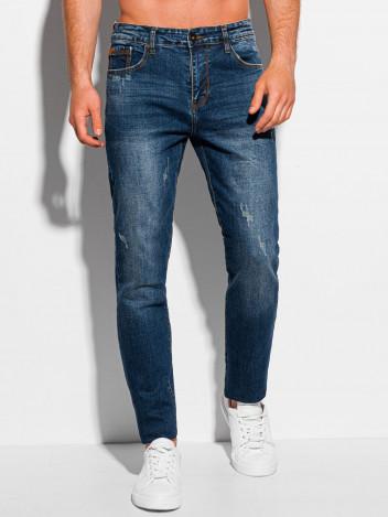 Edoti Pánské džíny Bardo tmavě modrá