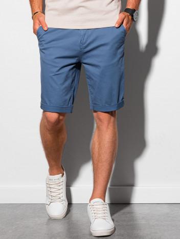 Ombre Clothing Pánské casual kraťasy Raken modrá