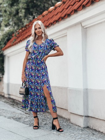 Edoti Dámské šaty Pascal fialová