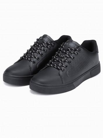 Ombre Clothing Pánské kotníkové boty Bartholom černá