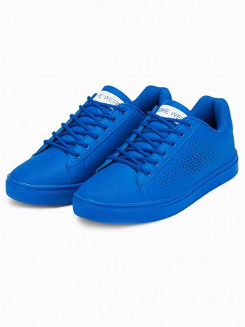 Ombre Clothing Pánské kotníkové boty Isolde modrá