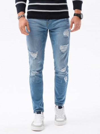 Ombre Clothing Pánské džíny Hampus světle modrá