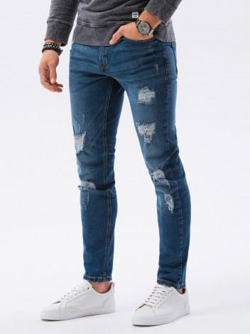 Ombre Clothing Pánské džíny Hampus modrá