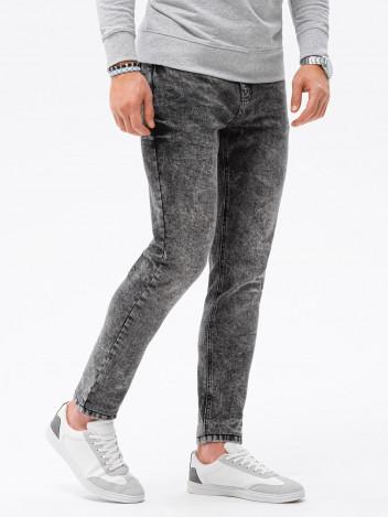 Ombre Clothing Pánské džíny Leilt černá