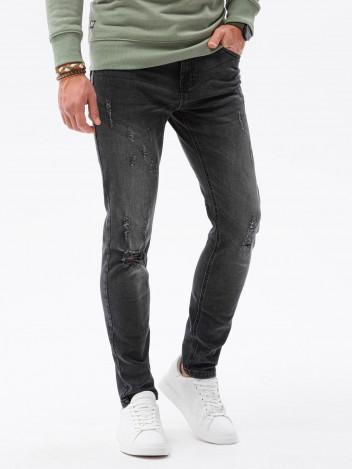 Ombre Clothing Pánské džíny Raoul černá