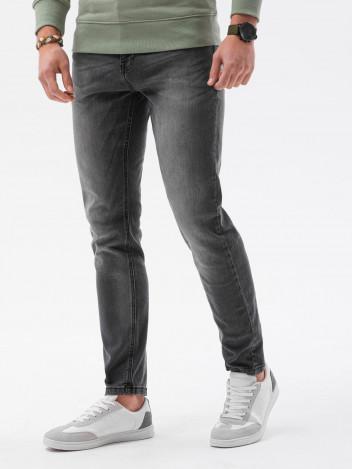Ombre Clothing Pánské džíny Louise tmavě šedá