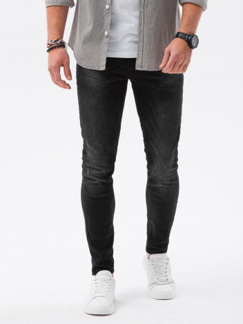 Ombre Clothing Pánské džíny Louise černá