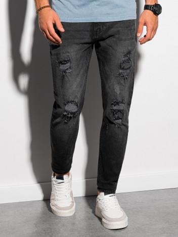 Ombre Clothing Pánské džíny Vidar černá