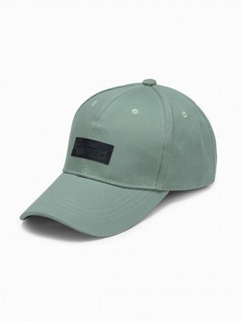 Ombre Clothing Pánská kšiltovka Hugda světle zelená