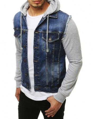 Dstreet Pánská džínová bunda Lean modrá